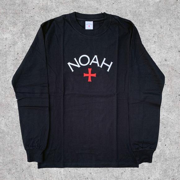 Noah NYC Other - Noah NYC Core Logo Black Long Sleeve Tee